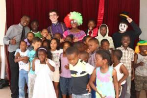 Children and Teachers, Capricorn Elementary School, Vrygrond, SA