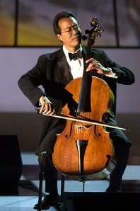 Yo-Yo Ms Playing the Cello Courtesy of Carnegie Hall Archives