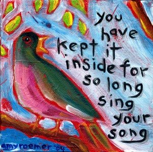 Singing Your Own Song