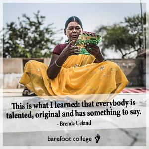 Courtesy of Barefoot College